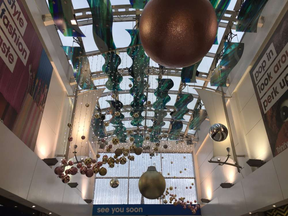 Christmas Shopping In The Trinity Centre Trinity Centre Aberdeen